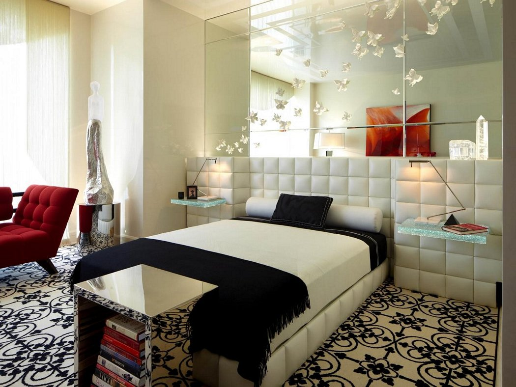 modern wall mirror design for bedroom 8