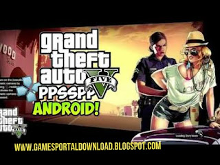 Download Gta 5 Full Game PPSSPP Iso/Cso