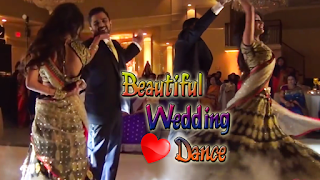 Beautiful Bride and Groom's Romantic Dance on Wedding 2017