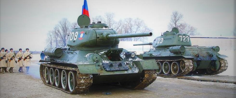 У російській армії з'явиться танковий батальйон Т-34