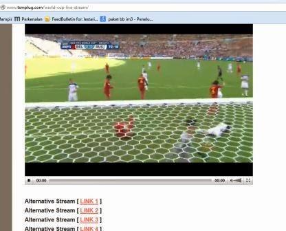 TV Streaming: Website Untuk Nonton Piala Dunia 2014 Gratis