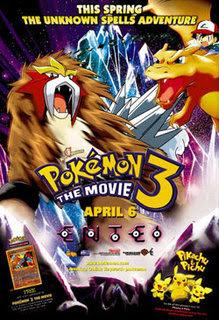 Pokémon 3: La Película – DVDRIP LATINO