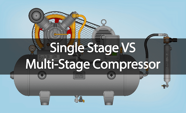 single stage compressor vs multi stage compressor