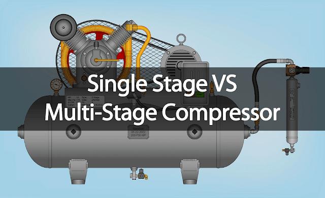 single stage compressor vs multi stage compressor