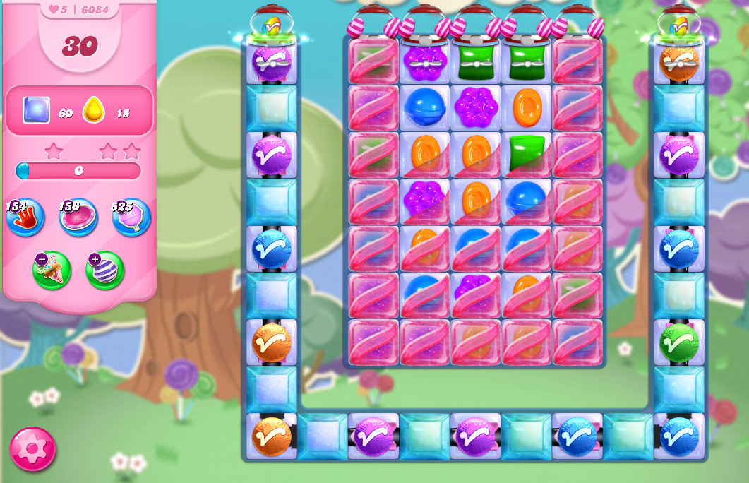 Candy Crush Saga level 6084