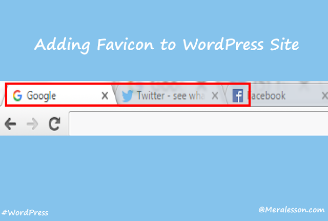 WordPress Favicon tutorial