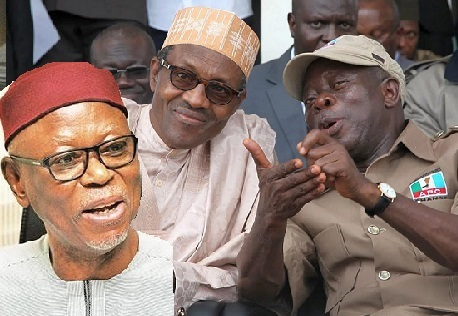 Fresh Rumbles In APC As Buhari ENDORSES Oshiomhole To Replace Oyegun As National Chairman