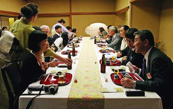 Traveler Guide Japan Banquet Style