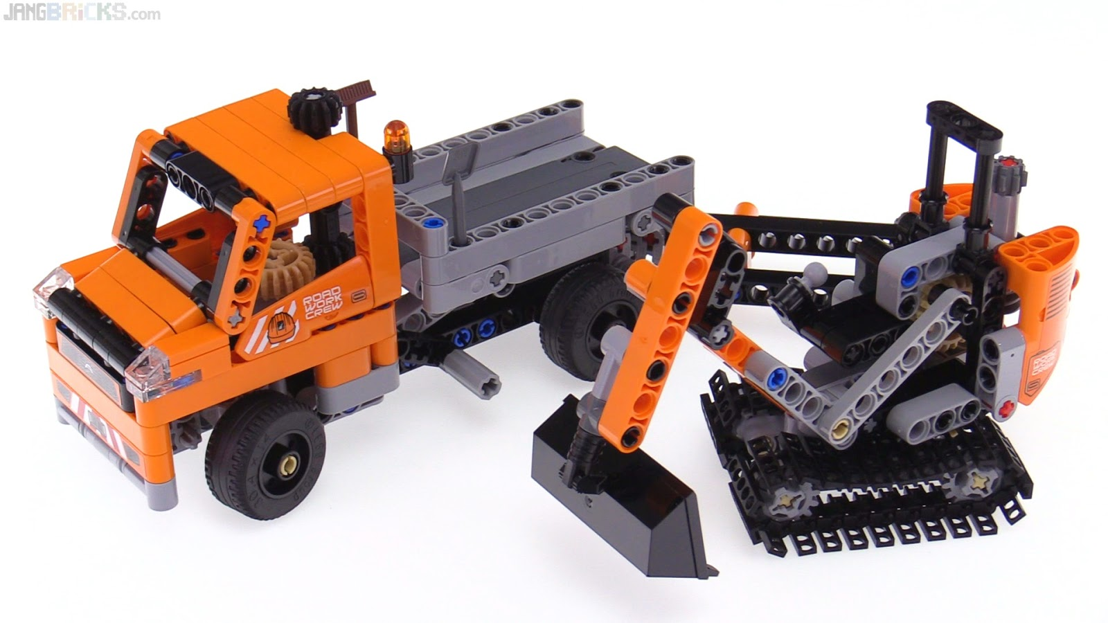 lego technic roadwork crew 2 in 1 review 42060. Black Bedroom Furniture Sets. Home Design Ideas