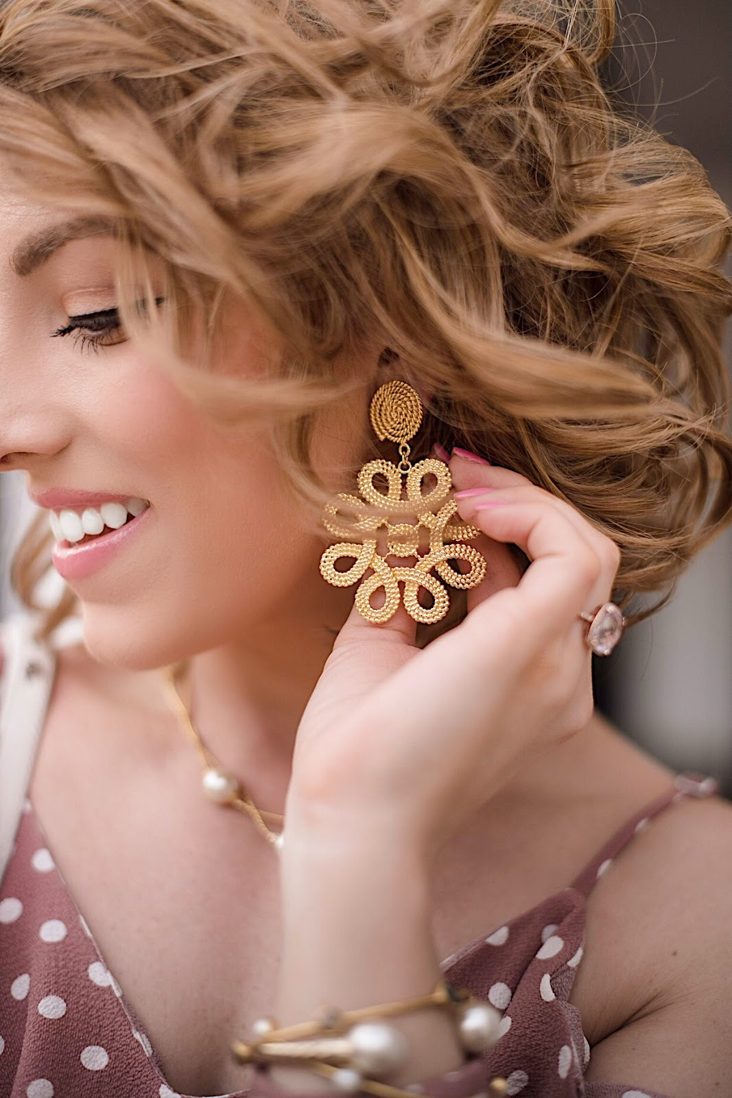 Lisi Lerch Cameran Earrings - Click through to see more on Something Delightful Blog