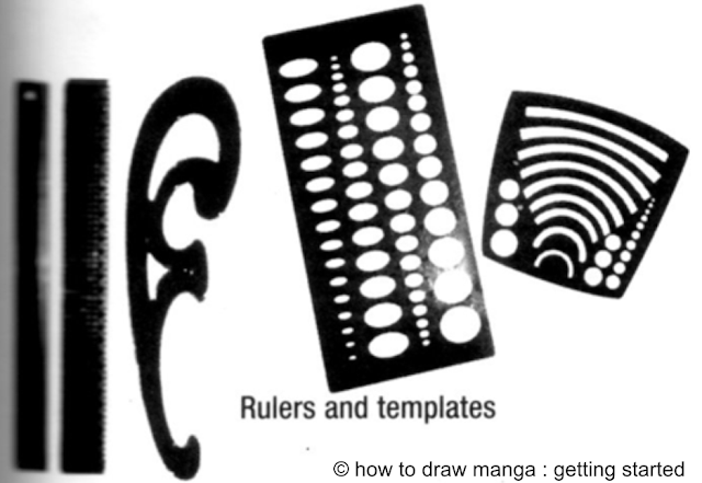 Penggaris khusus manga