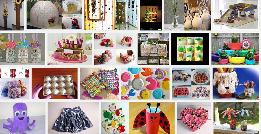 Emprende con manualidades manualidades con reciclaje - Manualidades de decoracion faciles ...