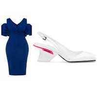 sculptural heels