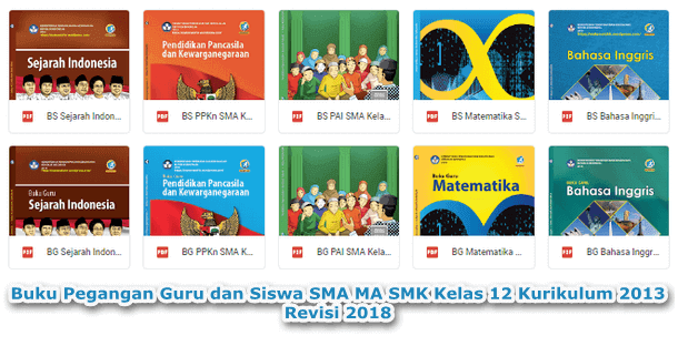 Buku Pegangan Guru dan Siswa SMA MA SMK MAK Kelas 12 Kurikulum 2013 Revisi 2018