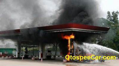 Bahaya Listrik Statis Di SPBU Dan Rel Kereta Api