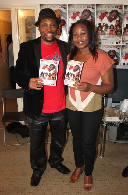 Movie Maker Georgie Kelly and African Magazine Editor Noellin Imoh
