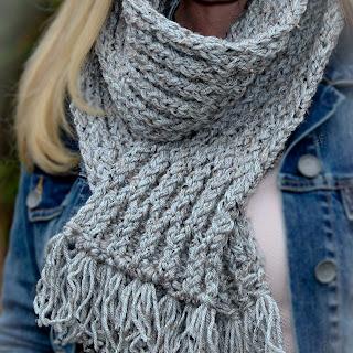 Loom Knit Elegant Scarf Pattern Free Honeycomb