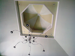 Variasi plafon dengan contra dome dan drop ceiling