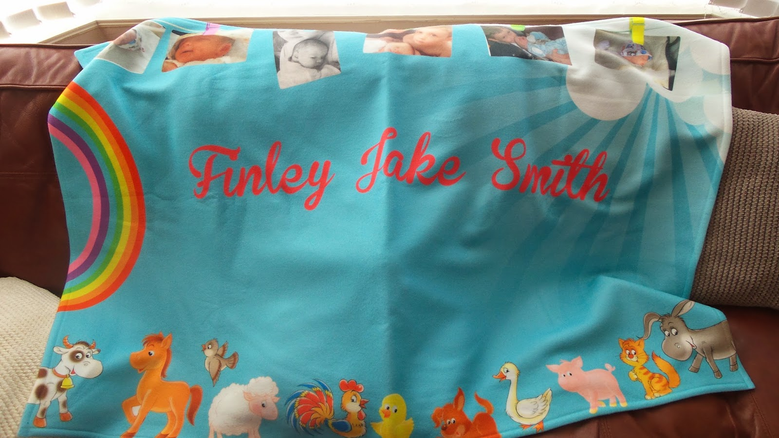 All personalised blankets uk
