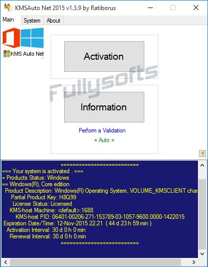 Download KMSAuto Net 2015 1.3.9