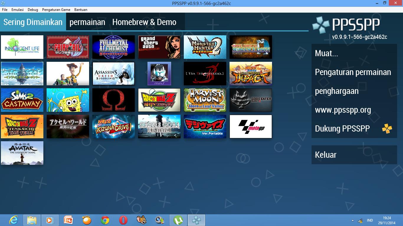 Download Emulator PSP For PC - Harvest Moon