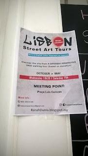 Lisbon Street Art Tour Poster