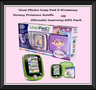 Leap Pad 2 Giveaway Button