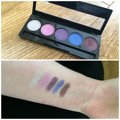 absolute new york eyeshadow swatches