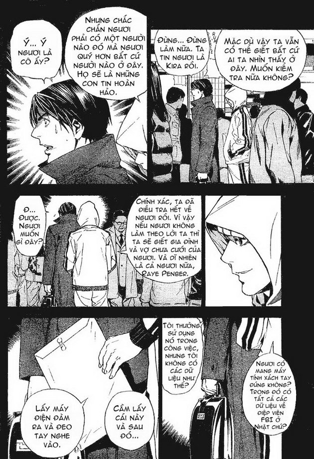 Death Note chapter 009 trang 11