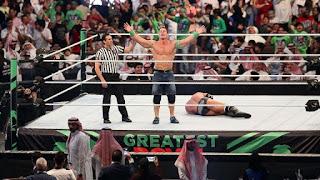 اتحاد المصارعة الحرة يعود إلى السعودية من جديد