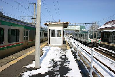 JR東北本線のりば3