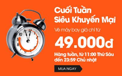 Vé máy bay Vinh đi TPHCM giá 199.000 đồng hãng Jetstar