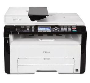 Ricoh SP 210SF Driver and printer