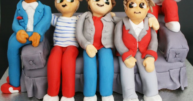 How To Make One Direction Cake Figures