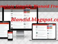 Template Simplify Blanoid Amp Gratis(free)