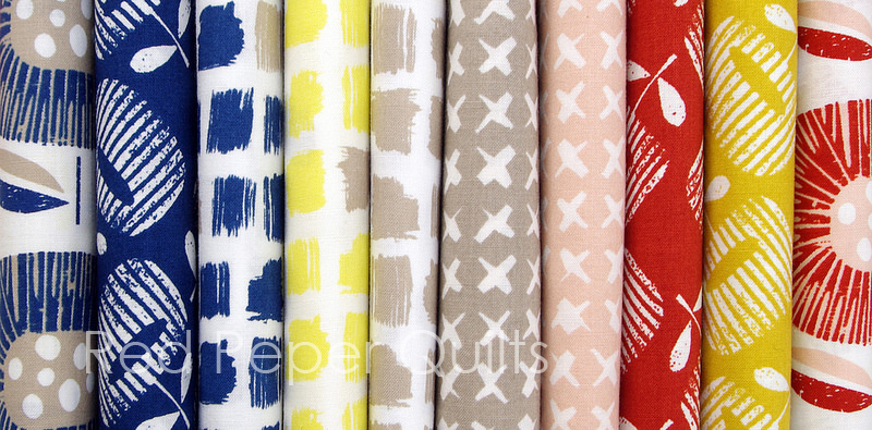 Around the Block by Skinny Laminx for Cloud9 Fabrics | © Red Pepper Quilts