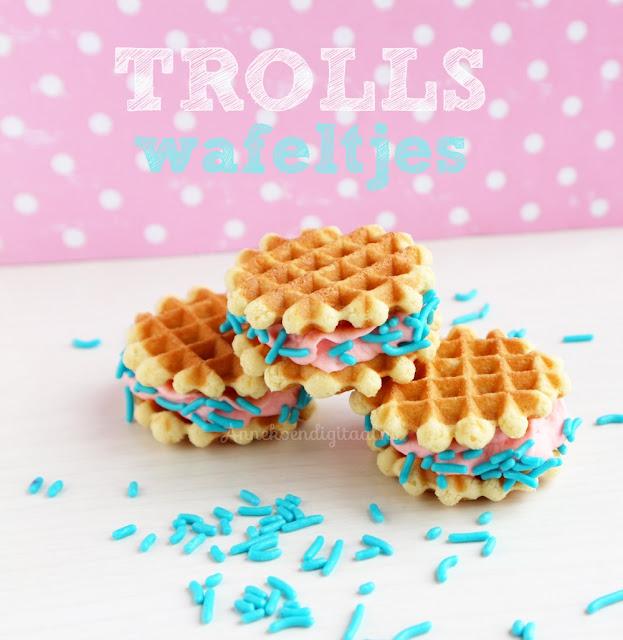 trolls traktatie, traktatie trolls, trolls printable, trolls diy, trolls blog, wafeltjes trolls, poppy traktatie, traktatie poppy, trolls uitdelen, trakteren trolls