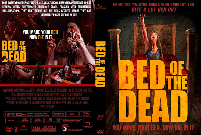 Bed Of The Dead DVD Cover (Exclusive)