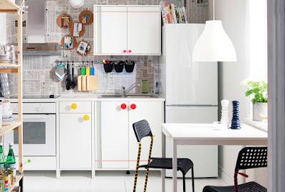 Lemari Dapur Minimalis dari IKEA