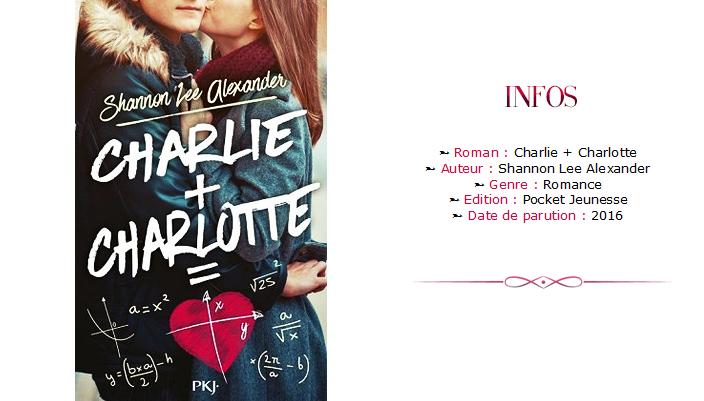 Avis livre Charlie + Charlotte Header