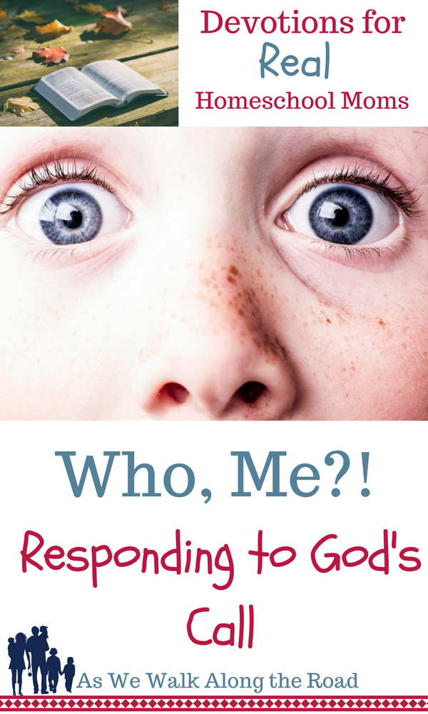 How do we respond to God's call?