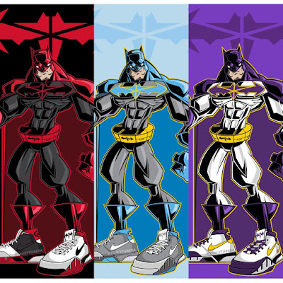 "New Batman ""The Protro Knight"" Variant Prints by Tracy Tubera"