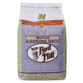الشوفان سريع الطبخ الخالي من الغلوتين Bob's Red Mill, Quick Cooking Oats, Gluten Free