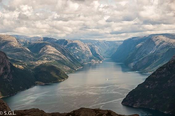 Panoramica de Lysefjord
