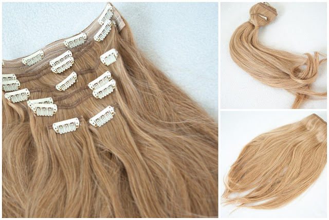 Clip in hair extensions, blond hair, hair, Irresistible Me, Silky touch