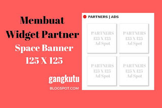 membuat widget partners