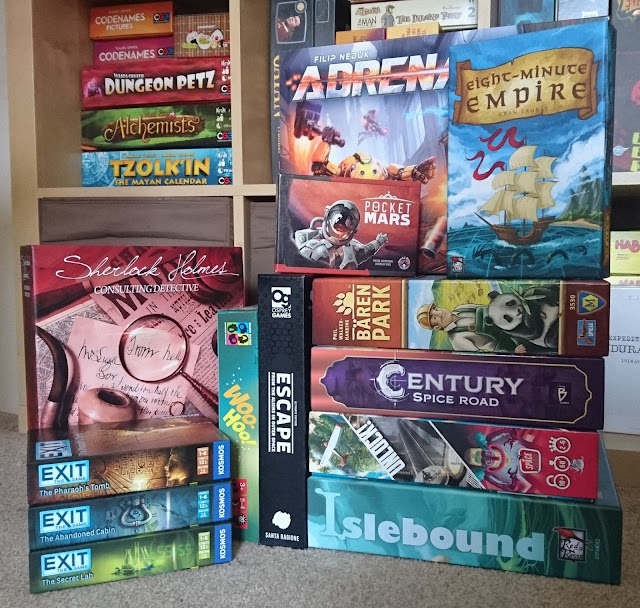 Board games from UK Games Expo