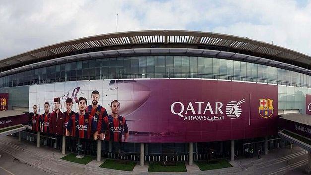 La fachada del Camp Nou será para los sponsors