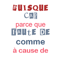 l'expression de la cause en français, le fle en un clic