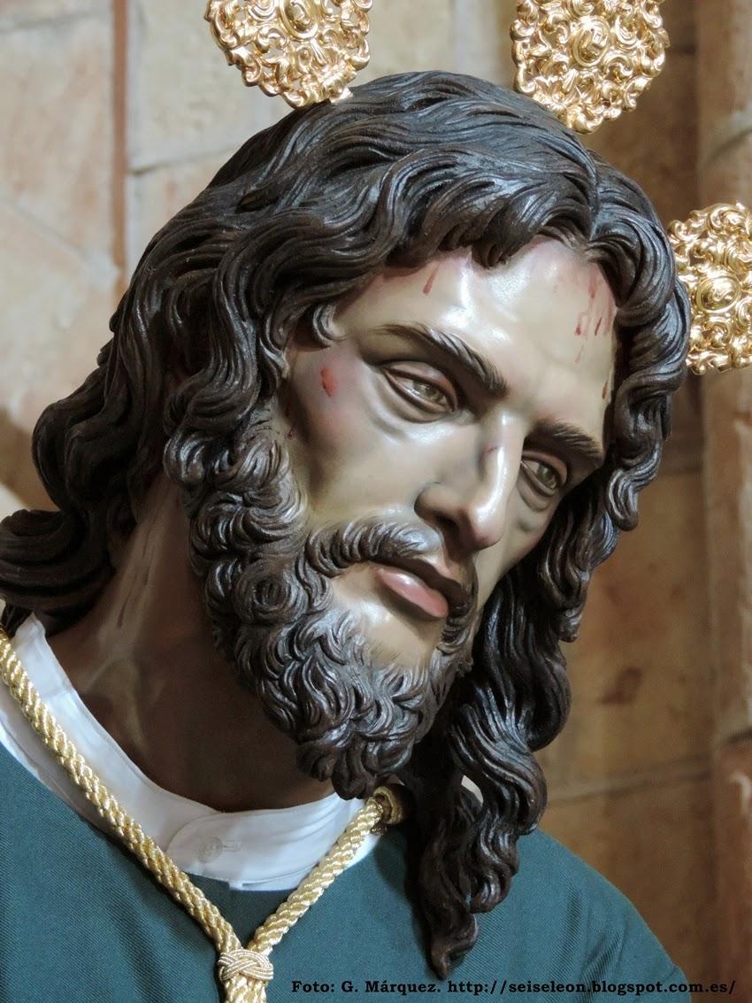 """Nuestro Padre Jesús de la Esperanza, """"el Cautivo"""". Cofradía del Sacramentado. León. Foto G. Márquez."""
